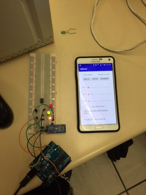 Spring 2016 Pathfinder: Project Tango Module#5 – Android to Arduino