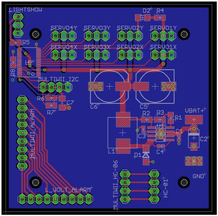 UFO PCB Layout Spring 2016 - Arxterra