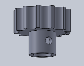 Figure 3. Arm turning gear.