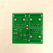 Fig. 1 : This is the custom PCB designed that should be attached to each cell (Slave & Master)